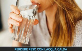 Perdere peso con l'acqua calda